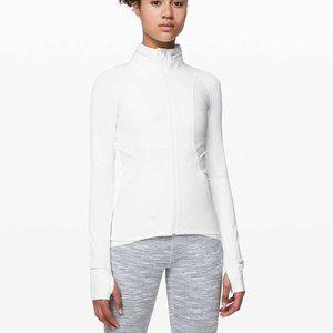 Lululemon Far and Free Jacket White